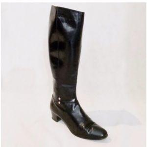 Salvatore Ferragamo Vintage Leather Riding Boots